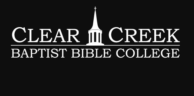 The logo for Clear Creek Baptist Bible College which is a top school for