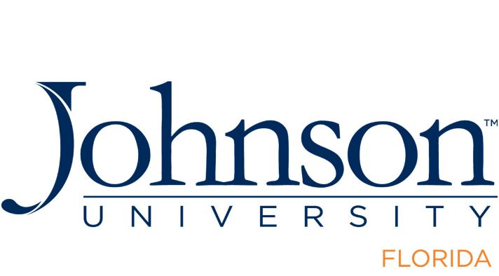 the logo for Johnson University which offers a great associate degree in theology online