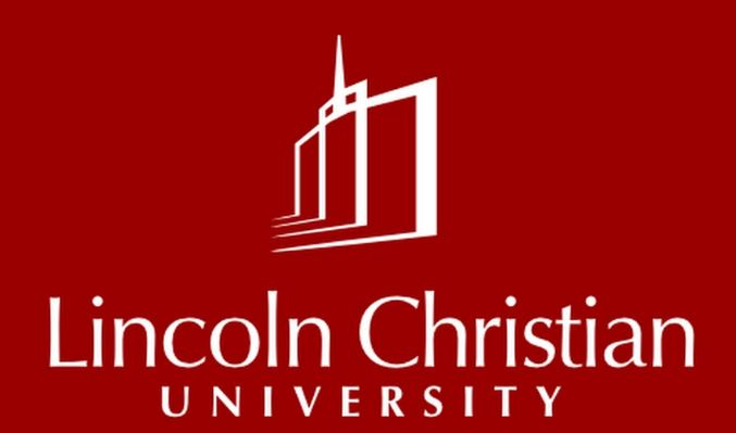 The logo for Lincoln Christian University which is a great school to get a associate degree in theology online