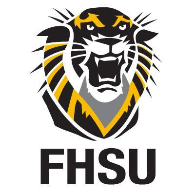 The logo for Fort Hays State University which has a top Bachelor of Science in Agricultural Business Online