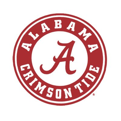 The logo for University of Alabama one of the top most affordable mountain colleges