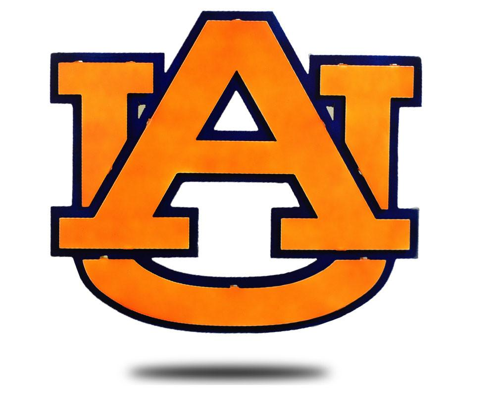 The logo for Auburn University which is one of the top republican colleges