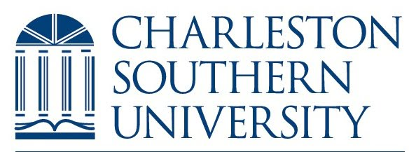 The logo for Charleston Southern University which has an Online Master's in Supply Chain Management