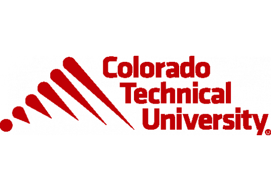 The logo for Colorado Technical University which offers a great Online Master's in Logistics and Supply Chain Management