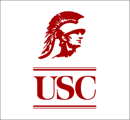 The logo for USC which is a great universities by the ocean
