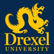 The logo for Drexel U which is one of our top ranked schools for rowing