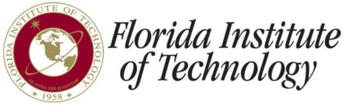 The logo for Florida Institute of Technology which offers a great Online MBA in Global Supply Chain Management no GMAT