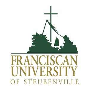 The logo for Franciscan University which is on of the most conservative colleges