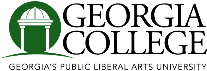 The logo for Georgia College & State University which has an Online Master's in Logistics and Supply Chain Management