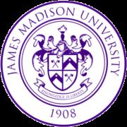 The logo for James Madison University