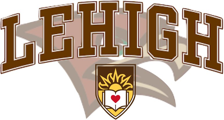 The logo for Lehigh University  where you can get a top Master's in Supply Chain Management Online- Top 30 Values 2018