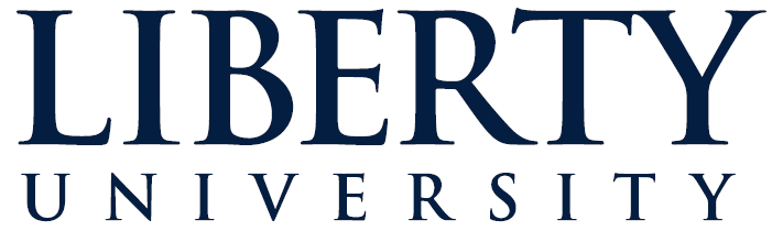 The logo for Liberty University which has on Online MBA in Supply Chain Management