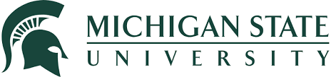The logo for Michigan State University which ranked 21st for the best online supply chain masters