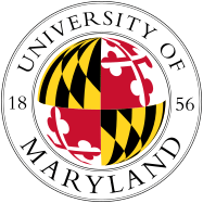 The logo for University of Maryland one of the most affordable colleges in the south
