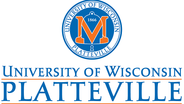 The logo for University of Wisconsin which offers supply chain management online degrees,