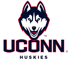 The logo for Uconn University which is a top girls basketball college