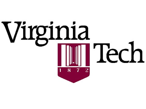 The logo for Virginia Tech One of the best colleges near mountains