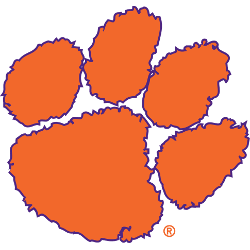 The logo for Clemson University Which is on our list of top appalachian colleges