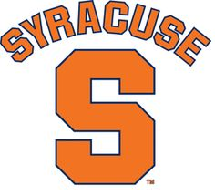 The logo for Syracuse which is one of the best girls basketball colleges