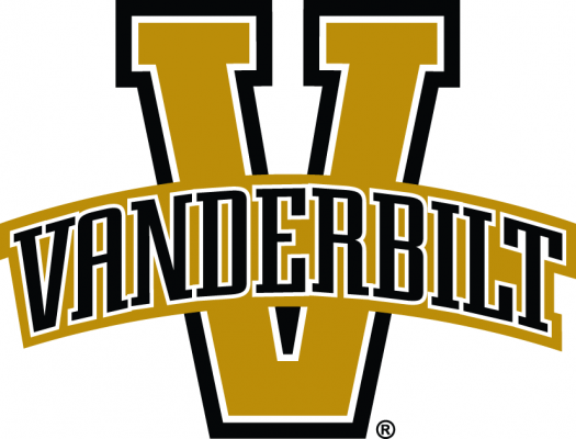 The log for Vanderbilt which is one of the best colleges for women's basketball