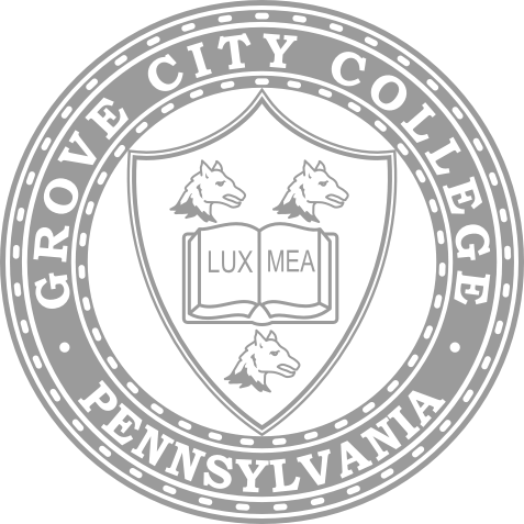 The logo for Grove City College which is one of the most conservative colleges