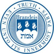The logo for Brandeis University which offers a top online masters programs in project management