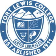 The logo for Fort Lewis College which placed 25th in our ranking of greatest parks and recreation degree