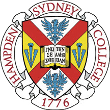 The logo for Hampden-Sydney College which is one of the finest republican universities