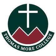 The logo for Thomas More College which is a great republican school