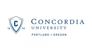 The logo for Concordia University which placed 28th in our ranking of schools with best phd educational leadership online
