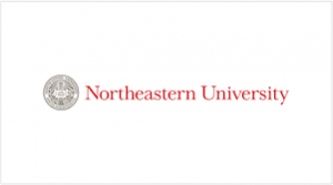 The logo for Northeastern University which offers a outstanding Online PhD in Information Assurance