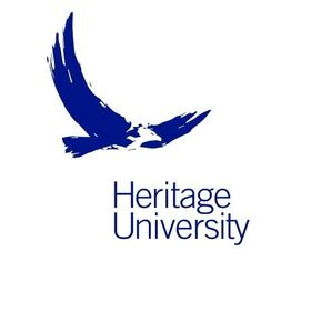 The logo for Heritage University which is one of the top pacific northwest universities