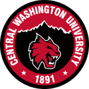 The logo for Central Washington University which is one of the top universities in the pacific northwest
