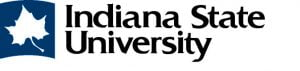 The logo for Indiana State University which has a top Online Doctorate in Athletic Training