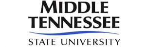 The logo for Middle Tennessee State University which offers a top Online PhD in Human Performance