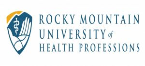 The logo for Rocky Mountain University of Health Professions - Top 20 Online PhD Sports Management 2019 which has a top Online PhD in Health Sciences