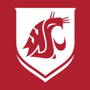 The logo for WSU which offers one of the greatest Master's in Public Relations Online