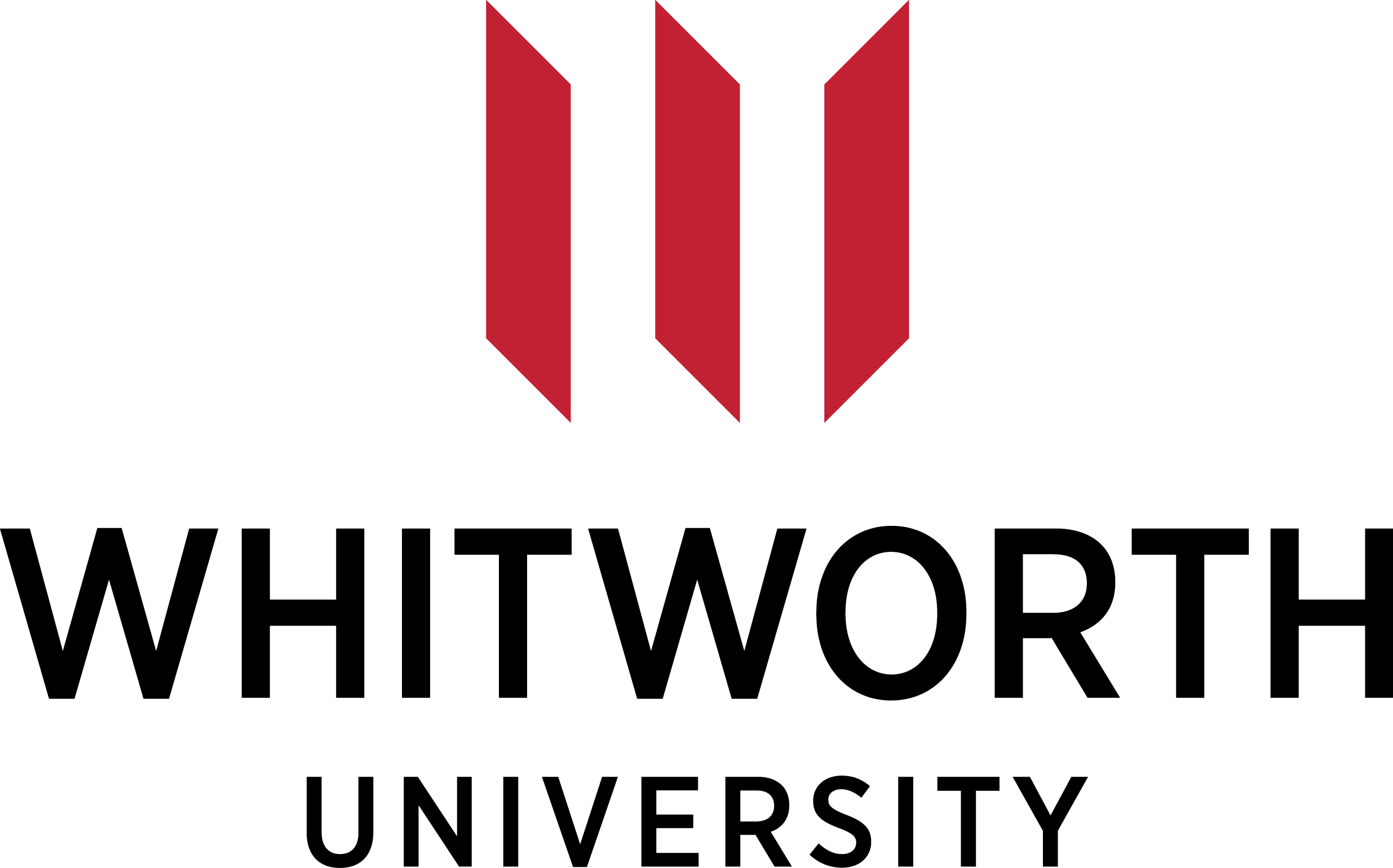The logo for Whitworth University which is a top choice if you looking for colleges in oregon and washington
