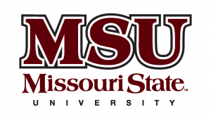 The logo for Missouri State University which ranked 5th for the best schools with online criminal justice masters degrees
