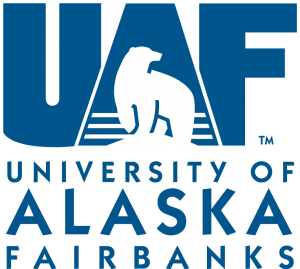 The logo for UAF which is a top sea grant universities