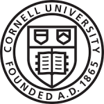 The logo for Cornell University which is one of the best sea grant universities
