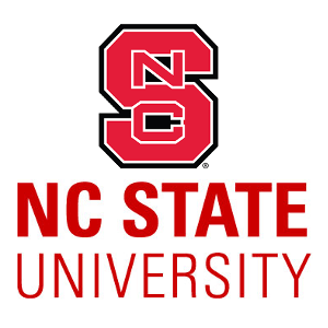 The logo for NC state which is a top sea grant university