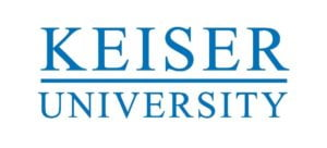 The logo for Keiser University which placed 13th for best phd industrial organizational psychology online