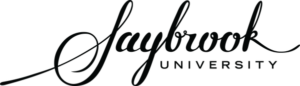 The logo for Saybrook University which has a great online phd organizational psychology