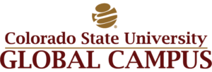 The logo for Colorado State University which ranked 4th for cheapest online masters degree in criminal justice