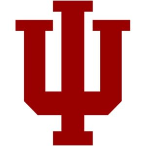 The logo for Indiana University-Bloomington which has top computer science programs