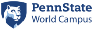 Logo of Penn State-World Campus for our ranking of online master's HR