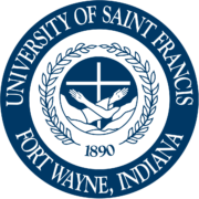 Logo of University of Saint Francis for our list of HR online master's
