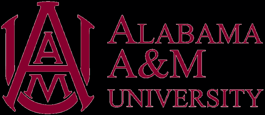The logo for Alabama A & M University which placed 11th in our ranking of food science programs