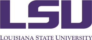 The logo for Louisiana State University which has one of best historical campouses
